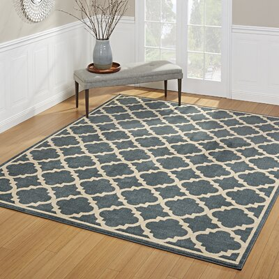 Greig Blue Indoor/Outdoor Area Rug Rug Size: Rectangle 53 x 7