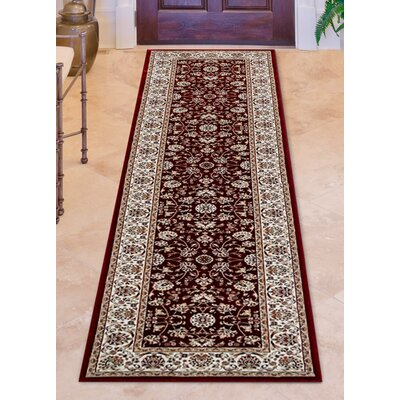 Cambridge Red/Ivory Area Rug