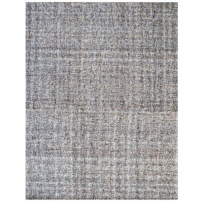 Texture Wool Hand-Woven Taupe/Ivory Area Rug Rug Size: 8 x 10