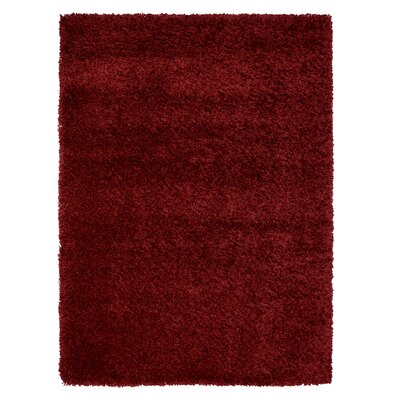 Ultimate Bordeaux Area Rug Rug Size: Rectangle 66 x 96
