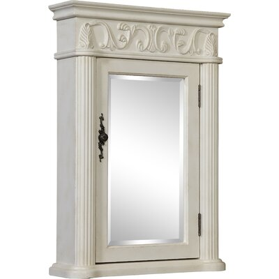 Alexis 21 x 30 Surface Mount Medicine Cabinet Finish: White
