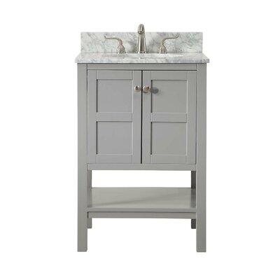 Middleburg 24 Single Bathroom Vanity Set Base finish: Ash