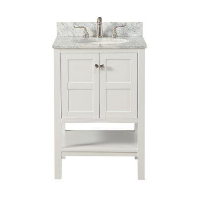 Middleburg 24 Single Bathroom Vanity Set Base finish: White