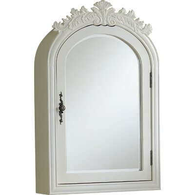 Willesden Arched Bathroom / Vanity Mirror Finish: Antique White