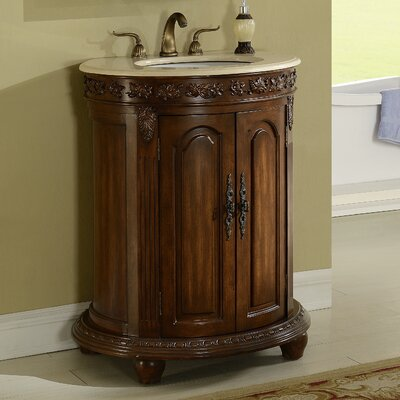 Willesden 30 Single Bathroom Vanity Set Base finish: Teak