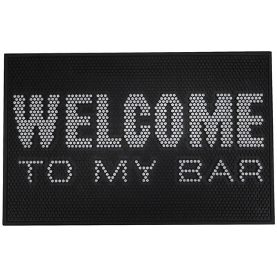 Jone Welcome Rubber Bar Bath Rug