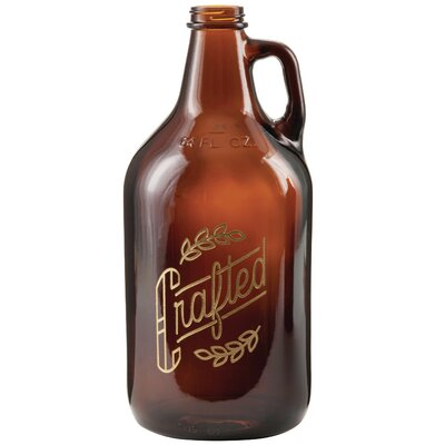 Braatz Glass 64 oz. Growler