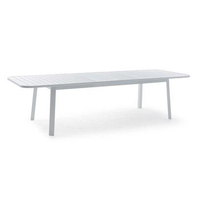 Klara Extendable Aluminum Dining Table
