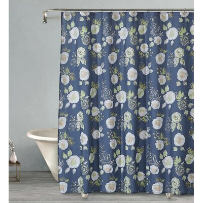 Kistner Evening Corsage Cotton Shower Curtain