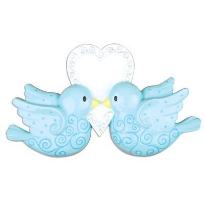 Couples Birds Shaped Ornament POLARX-OR1164