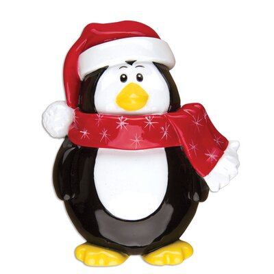 Penguin General Christmas Character Shaped Ornament POLARX-OR1310