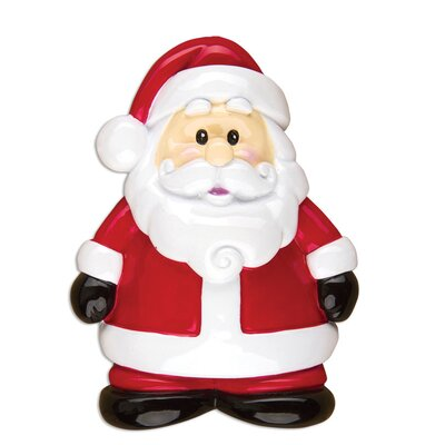 Santa General Christmas Character Shaped Ornament POLARX-OR1311