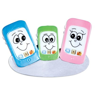Family Series Cell Phone Shaped Ornament +120-3