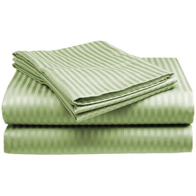 400 Thread Count Sheet Set Color: Sage, Size: Twin