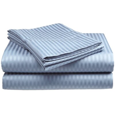 400 Thread Count Sheet Set Color: Light Blue, Size: Twin