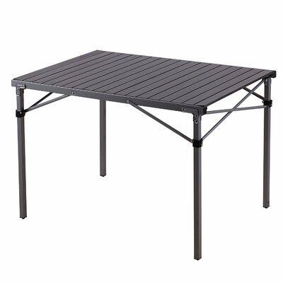Amarante Steel Frame Aluminum Alloy Desktop Lightweight Portable Strong Stable Folding Roll Up Camping Table
