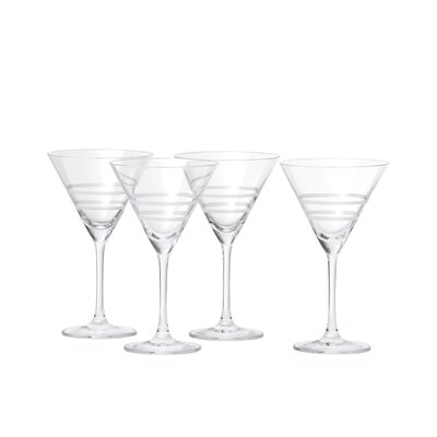 Crafthouse by Fortessa Signature Etched Cocktail 8.6 oz. Martini Glass