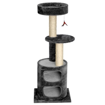 45 Mulvaney Cat Tree Color: Gray