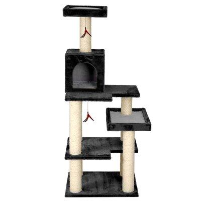 58 Mummert Multi Leveled Playground Cat Tree Color: Gray
