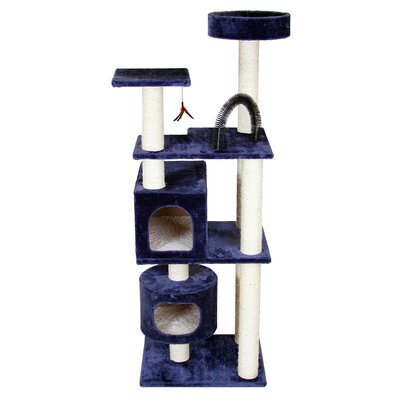 66 Mulvey Cat Tree Color: Blue