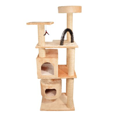 66 Mulvey Cat Tree Color: Beige
