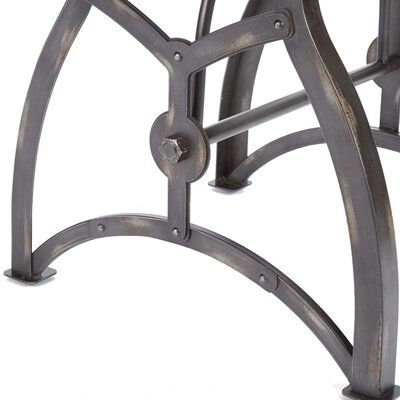 Winona Industrial End Table