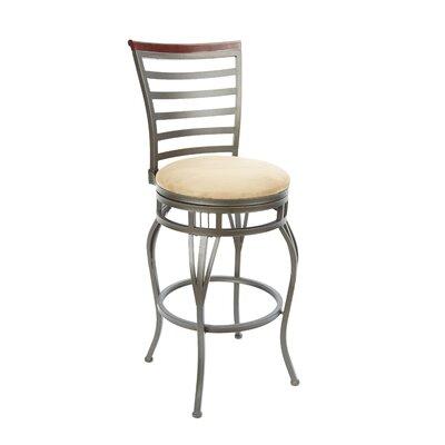 Bovina 29 Swivel Bar Stool Upholstery: Tan
