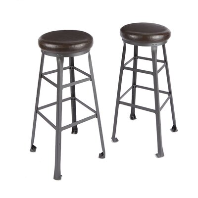 Josanna Industrial Bar Stool