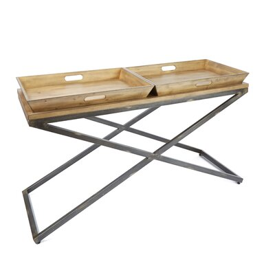 Derrick Industrial Console Table
