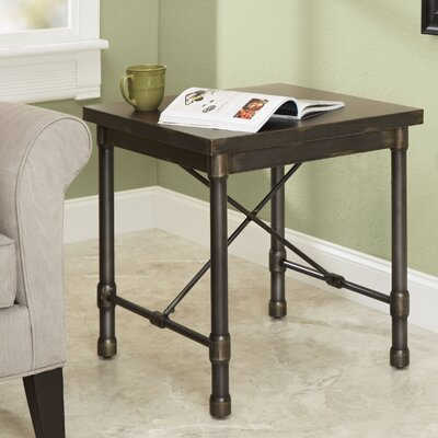Selena Industrial End Table