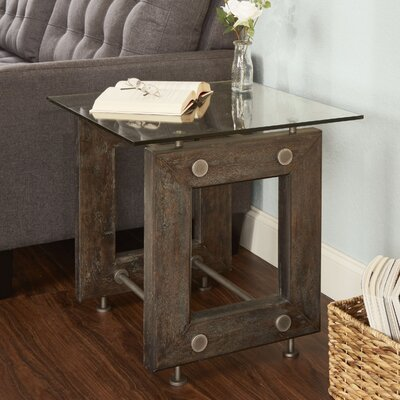 Lorenz Industrial End Table