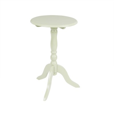 Collier Pedestal End Table