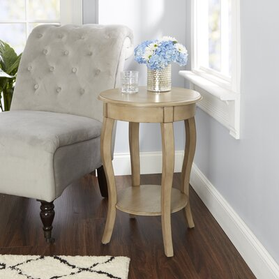 Adelina End Table with Cabriole Legs