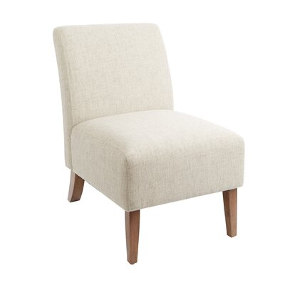 Parkerson Slipper Chair Upholstery: Tan