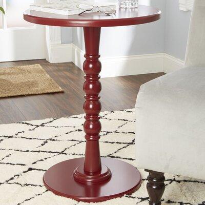 Jones Turned Pedestal End Table