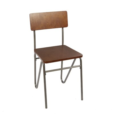 Alexandrine Solid Wood Dining Chair with Hairpin Legs