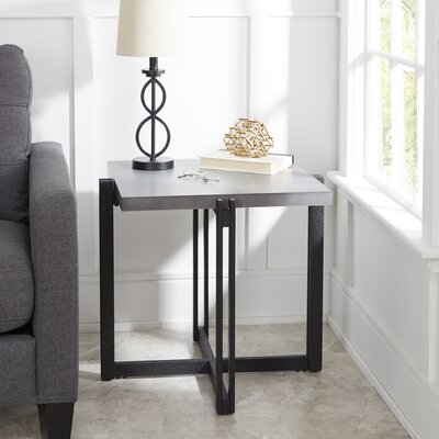 Baran Square End Table