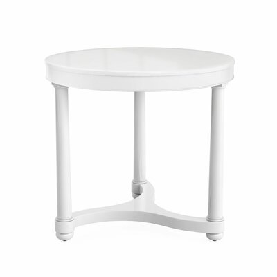 Gwendolen Side Table Color: White