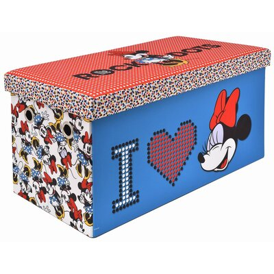 Minnie Mouse Folding Toy Storage Bench 250061-026