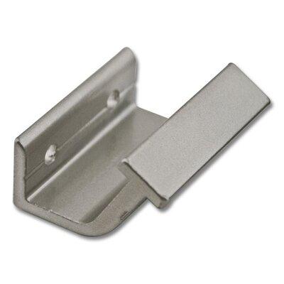 Horizontal Hook Bracket Kit Finish: Satin Nickel QG.302.02
