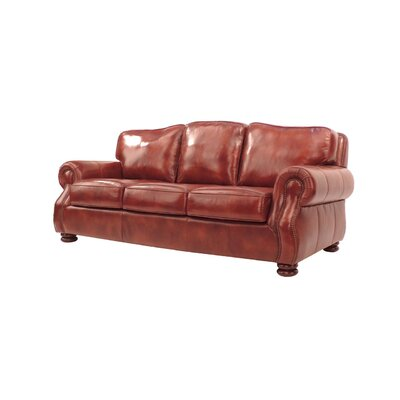 Brent Leather Sofa