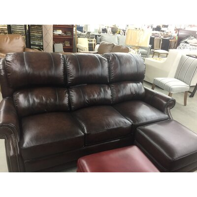 Austine Leather Sofa