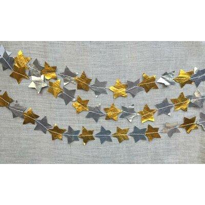 Carina Metallic Stitched Star Garland HBEE3005 40074972