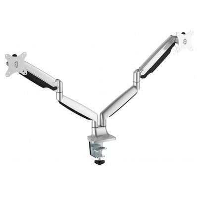 Pro Series Interactive Motion Height Adjustable 2 Screen Desk Mount