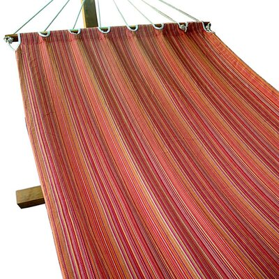 Bumgardner Fabric Tree Hammock Color: Red