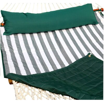 Tessa Hammock Pad Color: Green/White