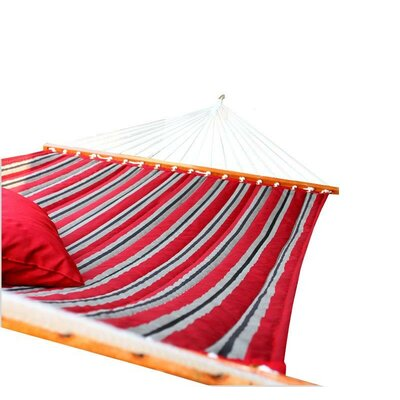 Image of Aaliyah Quilted Tree Hammock Color: Red