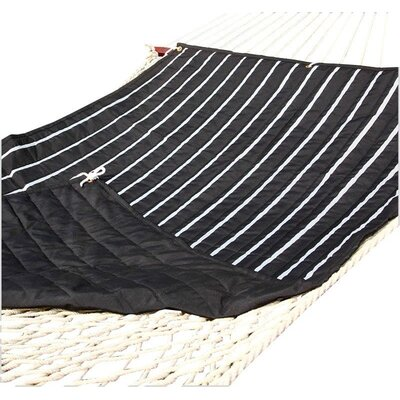Tessa Hammock Pad Color: Black/White