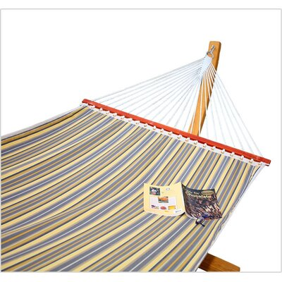 Sprague Fabric Tree Hammock Color: Foster Metallic