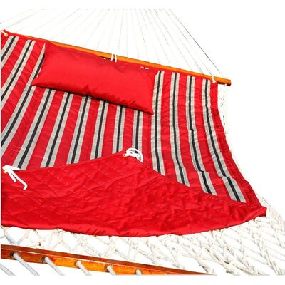 Tessa Hammock Pad Color: Red